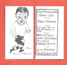 Derby County Jack Stamps 843